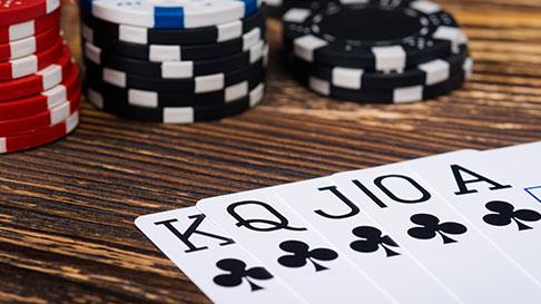 online poker betting agent